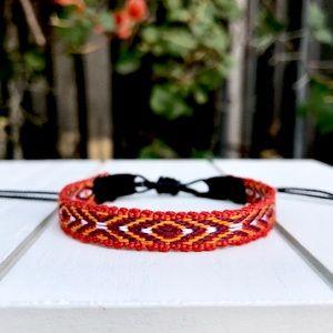 Jewelry - 2 for $9 ⇨ Gypsy Woven Black Suede Bracelet